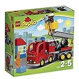 Lego 10592 Duplo Löschfahrzeug, Spielzeug für drei Jährige Kinder