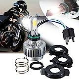 AMBOTHER de2hits13369 Motorrad H4 Hi/Lo LED Headlight Scheinwerferlampe 32W