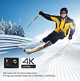 APEMAN Action Kamera WIFI sports cam 4K camera 20MP Ultra Full HD Unterwasserkamera Helmkamera...