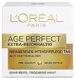 L'Oreal Paris Gesichtspflege Age Perfect Extra-Reichhaltig Tagespflege, 1er Pack (1 x 50 ml)