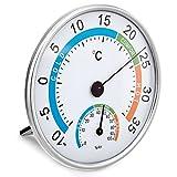 VARA Precision Hygrometer, modernes Haar-Synthetik-Hygrometer zur Überprüfung von Temperatur und...