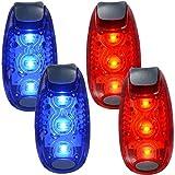 WINOMO 2 Paar LED Sicherheitslicht für Läufer Bikes Boote hochsichtbare Clip Licht für laufen...