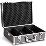 Mantona Basic M Foto-Koffer (inkl. 2 Trennstegen, zusätzlilcher Schaumstoffblock, abnehmbarer...