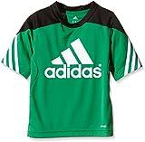 adidas Kinder Trikot Sereno 14, Twilight Green/Black/White, 128, F49698