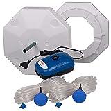 OSAGA Teich Eisfreihalter Set 4 inkl. regelbarer Luftpumpe und Zubehör, für einen eisfreien...