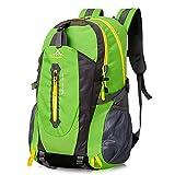 Wandern Rucksack, Gindoly Daypack 40L Trekkingrucksäcke Leichtgewicht Wasserdicht Casual Camping...