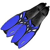 DF-Belize Schwimmflossen lang, blue, 39/40