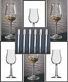 Whisky Nosing Gläser 6 Bugatti mit Rastal Design im Original Karton und 6 Einweg Pipetten,...