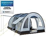 CAMPFEUER Tunnelzelt, Modell:2015, 4 Personen Campingzelt, 1. Platz als TESTSIEGER im Vergleich,...