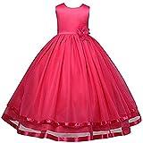 AGOGO Mädchen Kinder Kleider Festlich Brautjungfern Kleid Prinzessin Hochzeit Party Kleid...