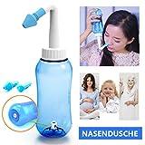 ONCCI 300ml Heuschnupfen Nasendusche Nasenspülung / Allergie / Trockener Nase Nasenreinigung Nase...