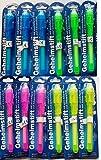 12 Stück Geheimstift mit UV-Licht , unsichtbar schreiben , lesbar durch Licht , hillfield®
