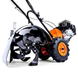 FUXTEC Benzin Gartenfräse FX-AF200 Motorhacke Ackerfräse Bodenfräse Bodenhacke Kultivator mit...