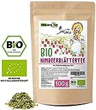 Himbeerblättertee Schwangerschaft Schwangerschaftstee100g Himbeerblätter Tee in Premium Bio...