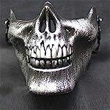 XuBa Cool Skull CS Full Face Mask Bike Motorrad Outdoor Game Sport Schutzkleidung für Halloween...