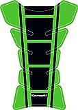 Kawasaki Universal-Schutzbrille Tank-Pad für Motorräder Grün