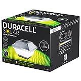 Duracell Solar LED Leuchte für Zaunpfähle, Garten Pfostenkappen, Zaunpfosten GL067COPDU mit 2...