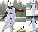 Jumpsuit Tier Cartoon Fasching Halloween Kostüm Sleepsuit Cosplay Fleece-Overall Pyjama Schlafanzug...