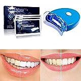 Genkent Teeth Whitening Kit Advanced Teeth Whitening Strips and Teeth Light Whitening Accelerator
