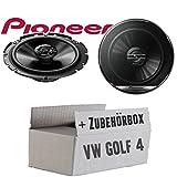 VW Golf 4 - Lautsprecher Boxen Pioneer TS-G1720F - 16cm 2-Wege Koax Koaxiallautsprecher Auto...