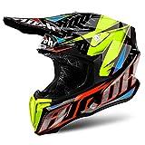 AIROH Helmet Twist Iron, Orange, Größe L