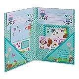 Lucy Locket Waldtiere Briefpapier-Set für Kinder (Schreibpapier, Briefumschläge und Postkarten im...