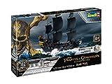 Revell 05499 - Modellbausatz Schiff 1:150 - Piratenschiff BLACK PEARL im Maßstab 1:150, Level 3,...