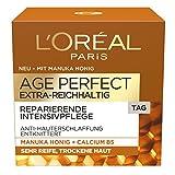 L'Oréal Paris Age Perfect Extra-Reichhaltig Manuka Tagespflege, 1er Pack (1 x 50 ml)