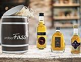 probierFass - COGNAC GESCHENKSET - 3 Cognac Klassiker verpackt in einem einzigartigen Holzfass (...