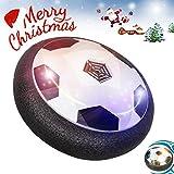 Hover Ball | Air Power Fußball | YIDERN LED Licht Fußball mit Schaum Stoßfänger für Indoor...