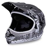 Motorradhelm X-treme Kinder Cross Helme Sturzhelm Schutzhelm Helm für Motorrad Kinderquad und...