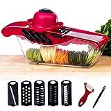5 in 1 Gemüseschneider Kartoffelschneider / Pflanzliche Slicer / Multi Gemüsehobel,...