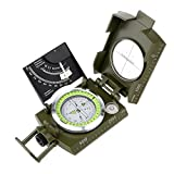 Kompass, professionelle Kompass Metall Tasche Größe Wasserdicht 50mm Zifferblatt Kompass...