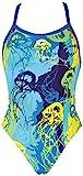 ARES5 Damen Arena Wettkampf Underwater Badeanzug, Royal-Royal, 36