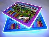PREMIUM Interaktives 3D Tablet für Kinder - Sounds & LED Beleuchtung - Lerntablet Spieltablet...