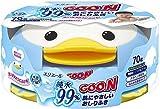 GOO.N Baby Feuchttücher Pinguin-Box 70 Tücher Premium Qualität Made in Japan - Perfektes Geschenk...