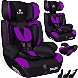KIDIS Autokindersitz Kinderautositz Sportsline Gruppe 1+2+3 | 9-36 kg Autositz Kindersitz | Stabil...