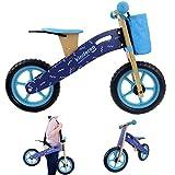 KINDEREO Laufrad Lauflernrad Happy Way Ultraleicht 12 Zoll aus Holz für Jungen und Mädchen ab 2...