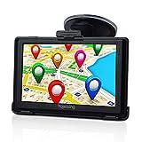 GPS Navi Navigation für Auto PKW LKW PKW KFZ Navigationsgerät 5 Zoll Navigationssystem Lebenslang...