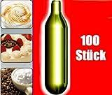 NEMT 100s 100 Stück N2O Sahnekapseln, passend für alle handelsüblichen Sahnebereiter von Liss,...