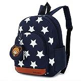 GWELL Stern Babyrucksack Kindergartenrucksack Kleinkind Kinder Rucksack Mädchen Jungen Backpack...