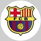 Tortenaufleger Tortenfoto Aufleger Foto Bild Fußball Barcelona rund ca. 20 cm *NEU*OVP*