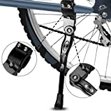 Fahrradständer, Yododo Faltbarer Fahrrad Seitenständer Einstellbarer Universal Fahrrad Ständer...