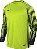 Nike Herren Torwarttrikot Gardien Goalkeeper LS Jersey, volt/black, XL, 725882-702