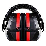 Gehörschutz für Kinder und Erwachsene, ECHTPower Kapselgehörschützer, 34dB Höchste NRR...