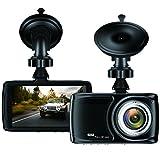 Dashcam 3.5' Auto Camera - BUIEJDOG 1080P Autokamera mit 170° Weitwinkelobjektiv, GPS Modul, WDR,...