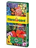Floragard Blumenerde 40 L • Universalerde • für  Balkon-, Kübel- und Zimmerpflanzen • mit...