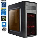 SNOGARD GAMER PC - Desktop Gaming PC (Intel Core i5-7500 4x3400Mhz, NVIDIA GTX 1050 Ti 4GB, 16GB...