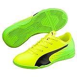Puma Unisex-Kinder Evospeed 17.5 IT Jr Fußballschuhe, Gelb (Safety Yellow Black-Green Gecko 01), 31...