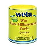 Klare Hühnersuppe 'Pur' - wela 1/1 Dose, Hühnerbouillon Paste für 40L, Hühner Brühe